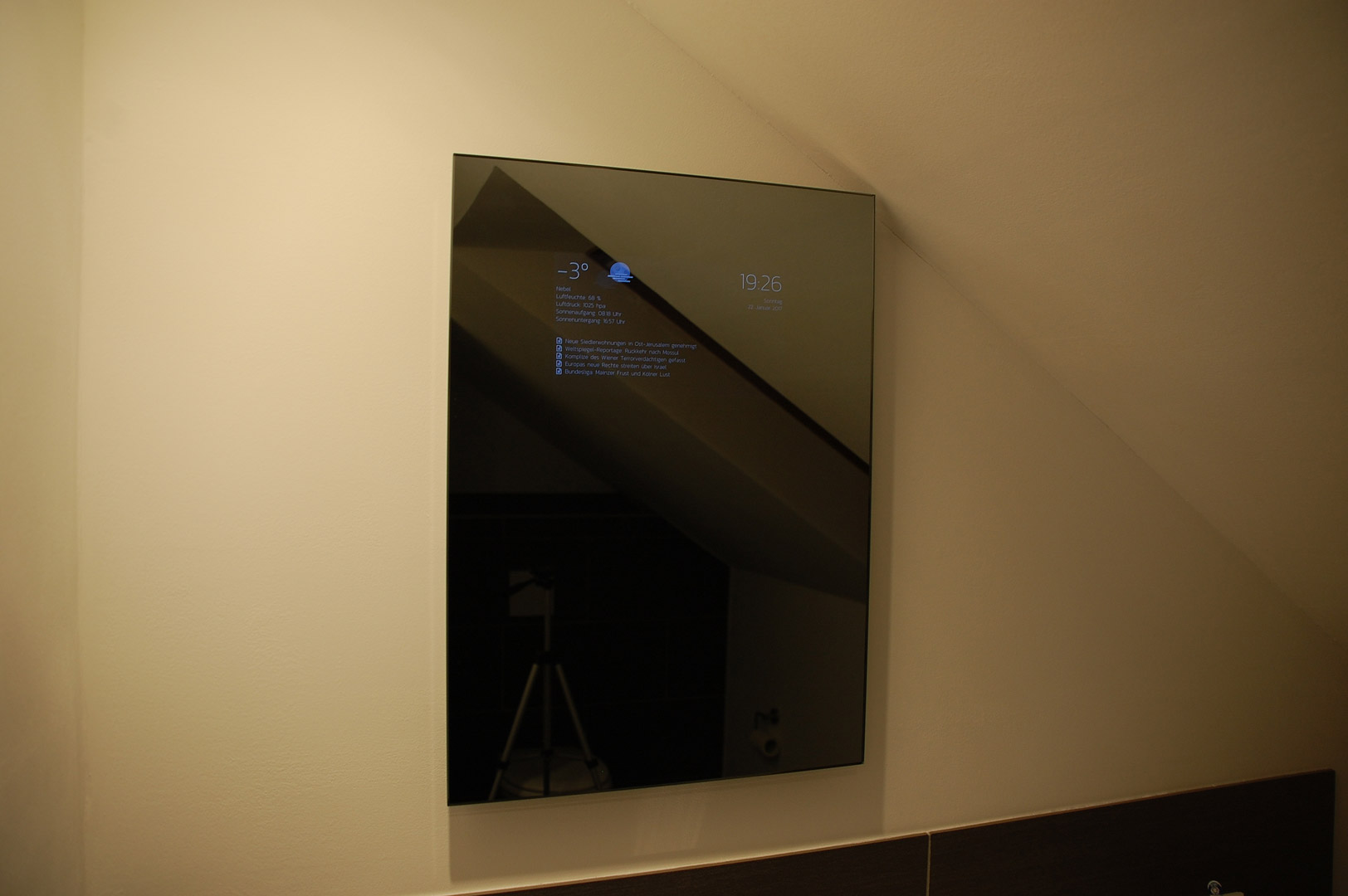 Smart Mirror – Frank Schumacher